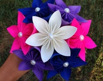 Paper Bouquet. You choose the color