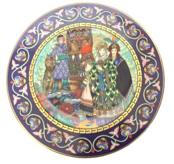 Villeroy & Boch The Firebird, The Wedding of Tsarevna Elena the Fair, Russian Fairy Tales, Heinrich Germany