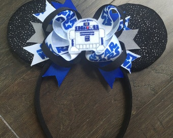 Star Wars R2-D2 Inspired Child Mickey Mouse Ears Droid R2D2