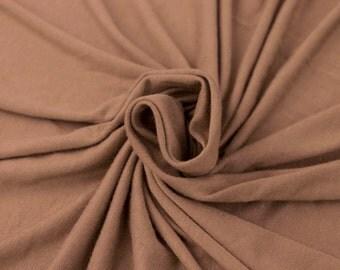 Pale Mauve Rayon Jersey Spandex Knit Fabric by the Yard - 1 Yard Style 406