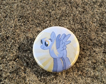 MLP Derpy Hooves Inspired Pin/Pinback Button