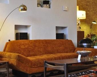 Adrian Pearsall Mediterranean Base Sofa in Original Fabric