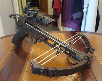 STEAMPUNK wasteland / Vampire hunter, Hand Crossbow,  Nerf style dart toy gun ! For cosplay