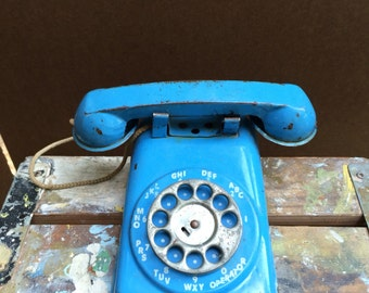 Metal Toy Phone 1960's