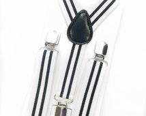 white and black stripe suspenders,boy suspenders,baby suspenders,wedding suspenders,toddler suspenders,birthday suspenders,photo prop