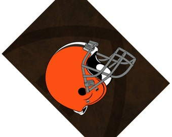 Passport Cover Case Holder -- Cleveland Browns