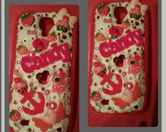 Samsung Galaxy s4 sweet whipped cream pink case