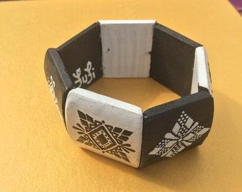 Ying Yang FufiDesigns bracelet