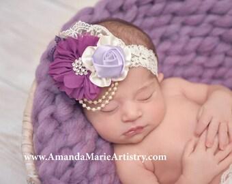 Newborn Bump Blanket, Chunky Knit Bump Blanket, Layering Blanket, Basket Filler, Basket Stuffer Newborn Girl Prop, Lilac prop