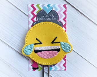Emoji Paper Clip - Planner Paper Clip - Planner Paperclip - Planner Accessories - Planner Feltie - Emoji Paperclip - Emoji Feltie