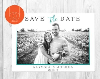 Custom Save the Date Photo Card