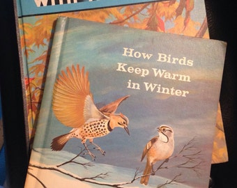 Pair of Bird Books: Traveling with the Birds and How Birds Keep Warm in Winter