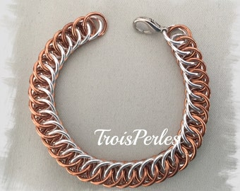 16-chain Maille bracelet-Chainmaille Bracelet