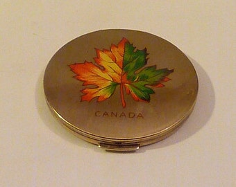Vintage compact mirror powder mirror compacts pocket