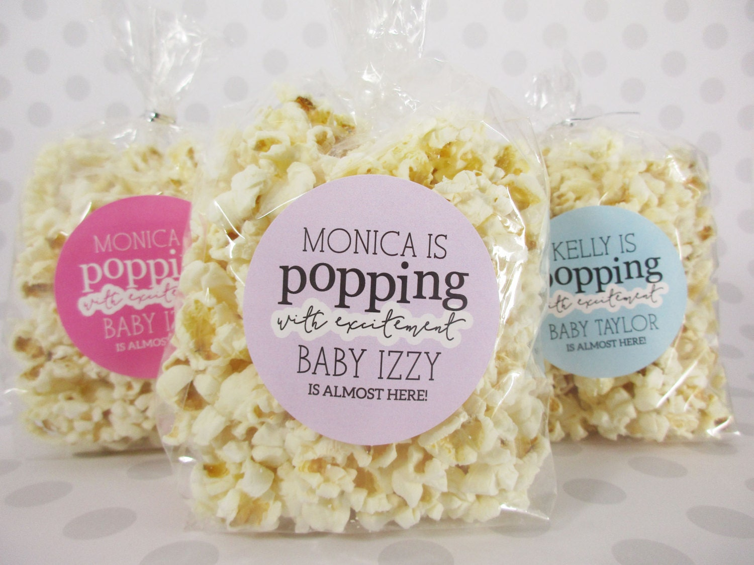 baby shower popcorn labels baby shower stickers by invitedtoo