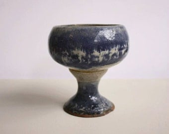 Large Pottery Goblet