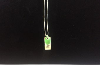 Green Lake Erie necklace