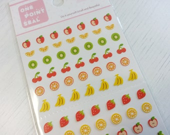 Lovely Fruit Paper Sticker  - 1 Sheet