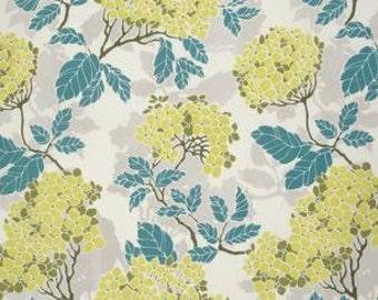 Joel Dewberry Birch Farm 'Hydrangea' in Sage Cotton Fabric