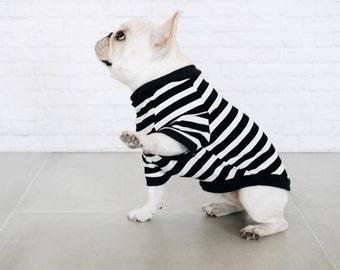 Striped Dog Shirt