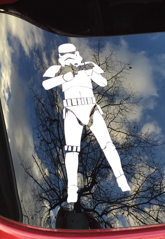 Star Wars Vintage Stormtrooper Vinyl Cut Sticker