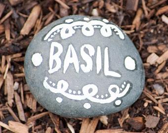 Garden marker - Basil