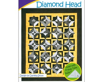 "Pattern ""Diamond Head"" by Cozy Quilt Designs (CQD01052) Paper Pattern"