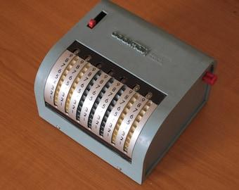 Addimat Desktop Adding Machine (1950's)