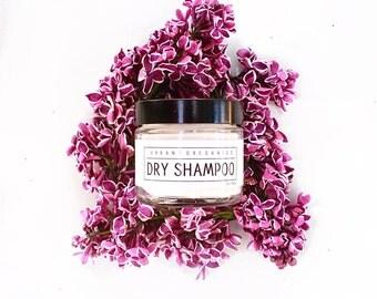 10% OFF! DRY SHAMPOO // Light Hair - - - Vegan ∙ Organic ∙ All Natural