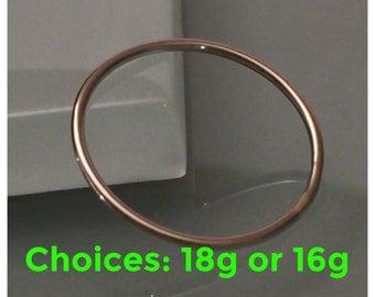 14K palladium white gold ring