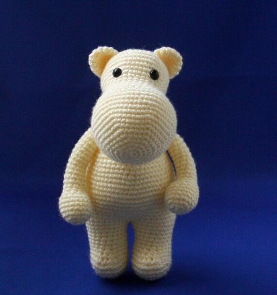 Hippo Amigurumi Amigurumi Hippo Crochet Hippo Plushie
