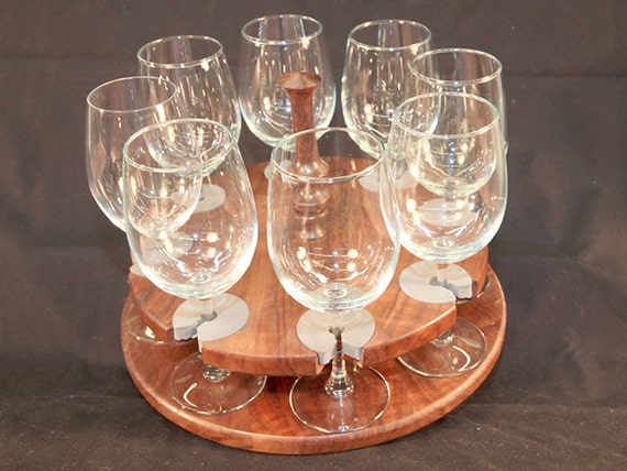 12 - Wine Glass Caddy (only) stemmed (8 station)