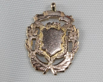 9ct Antique Double Sided Medal