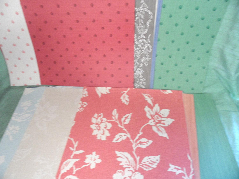 Large wallpaper sample sheets pack vintage nina campbell for Wallpaper sheets
