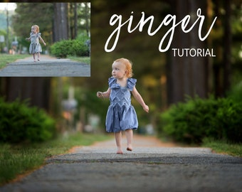 Photoshop: Ginger Tutorial