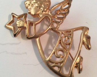 Angel brooch 2 in