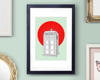 Doctor Who Art Print Doctor Who Print Doctor Who Poster Dr Who Art Print 12th Doctor Art 11th Doctor 12th Doctor Tardis Art Tardis Poster