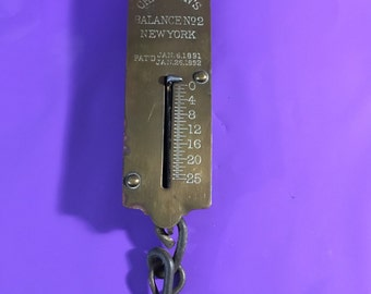 Antique Chatillons Weight Scale #2 1891 25lb