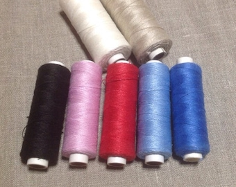 Linen Thread - several colours
