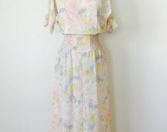 80s Lady Ritz Poly Dress