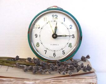VITYAZ - Vintage Mechanical Alarm Clock / Made in USSR