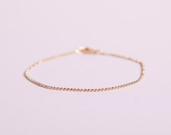 Pretty Bracelet Golden Ball Chain Beads Chain Plated  Gold Plated Ballchain