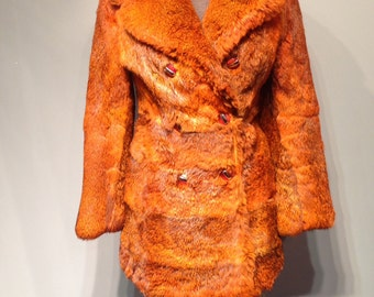 Fur Orange Jacket