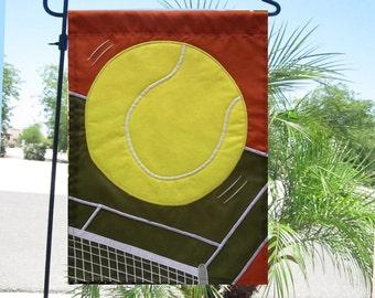 tennis garden flag