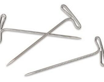 Mangelsen's Craft Supplies: T-Pins 1 1/2 inch - Silver 36 pieces