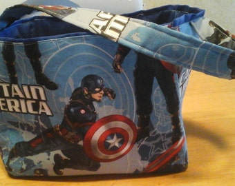 Captain America characters Easter basket