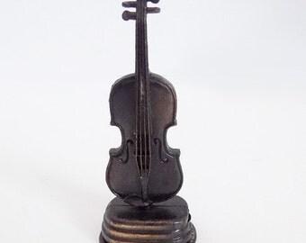 vintage pencil sharpener,vintage violin,die cast,antique sharpener,collectible sharpener,music sharpener