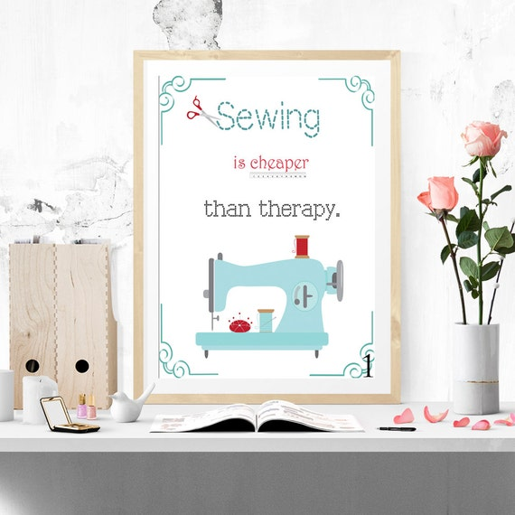 Wall Art For Craft Room : Craft room wall word art sewing is cheaper by myevergreenplace