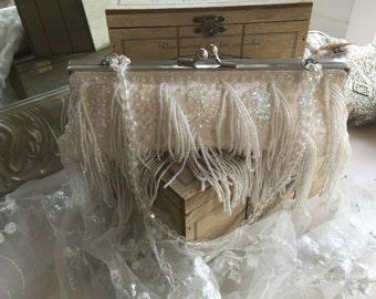 Beaded Bridal Bag