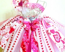 Hearts Tutu-Perfect for: Valentine's Day, photo shoot, pageant wear, ooc, birthday